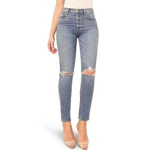 REFORMATION serena melbourne destroyed jeans